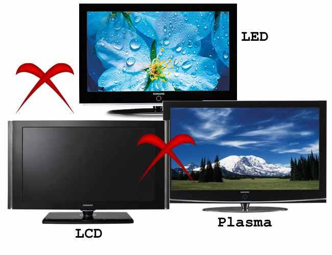 Comparação melhor TV LED-x-LCD-x-Plasma