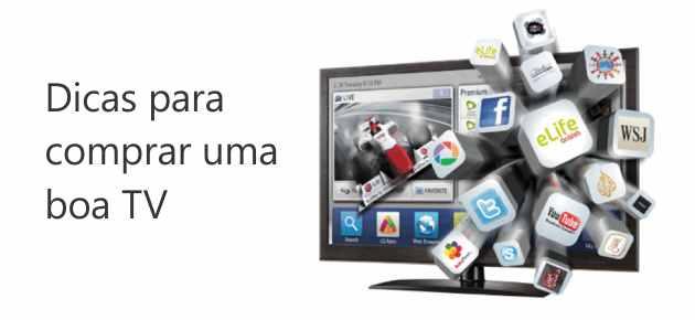 dicas para comprar uma boa tv