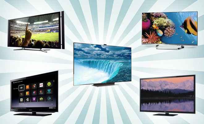 Smart TVs de diferentes tamanhos e preços