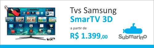 TVs em promoção no Submarino