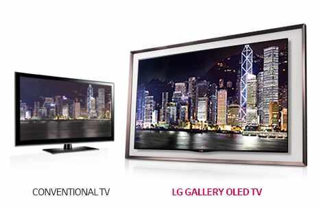 A LG OLED TV alcança o contraste perfeito