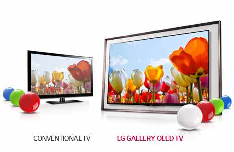 Smart TV 3D 55 LG OLED GALLERY 55EA8800