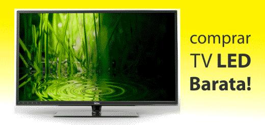 comprar tv led barata no brasil 2015