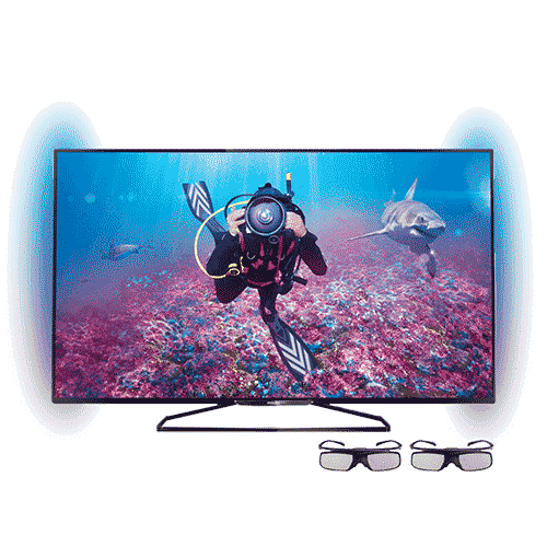 Smart TV LED 3D 40 Philips 40Pfg6309-78 Full HD barata