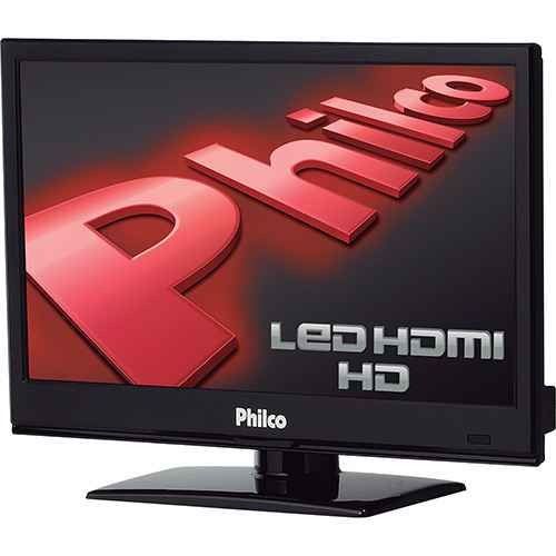 mini TV LED 16 Philco PH16N59P HD 1 HDMI com Entrada para PC