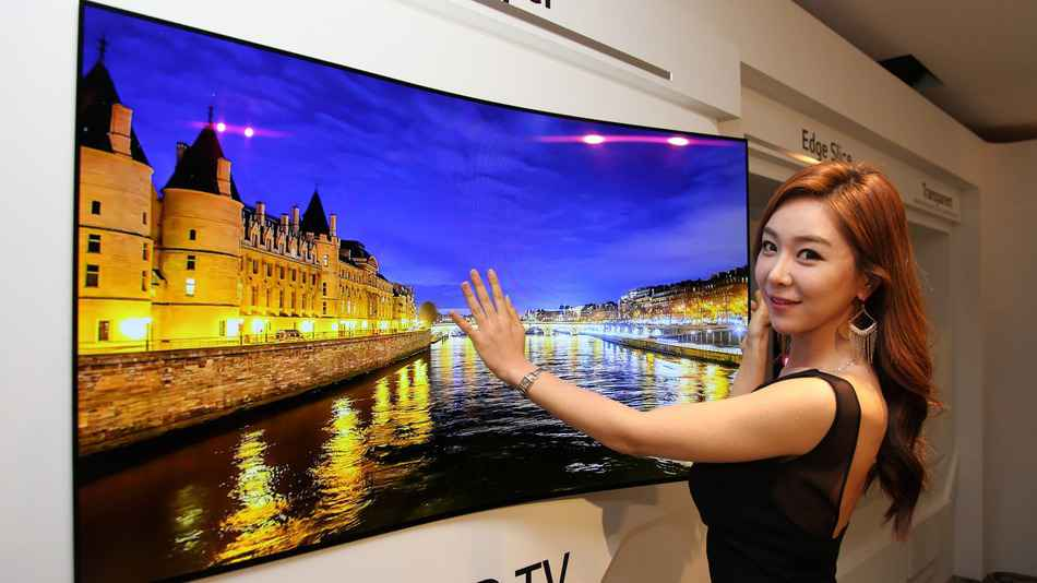 tv da lg oled com 55 polegadas wallpaper