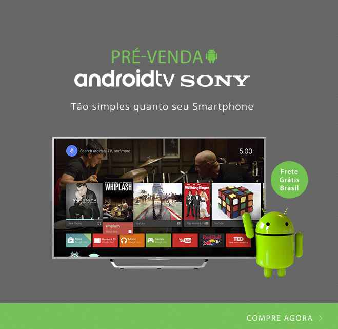 TV com Android da sony 2015