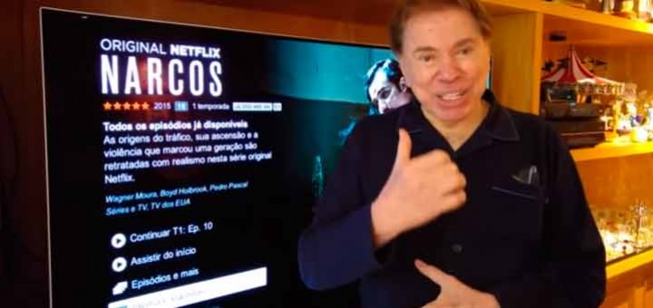 TV LG do Silvio Santos