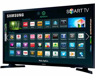 Smart TV LED 32 Samsung UN32J4300AGXZD HD