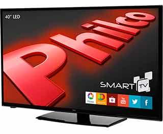Smart TV LED 40'' Philco PH40E36DSGW Full HD com Conversor