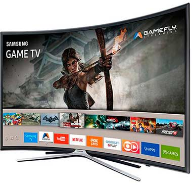 Smart TV LED 40 Samsung 40k6500 Full HD Curva 3 HDMI 2 USB