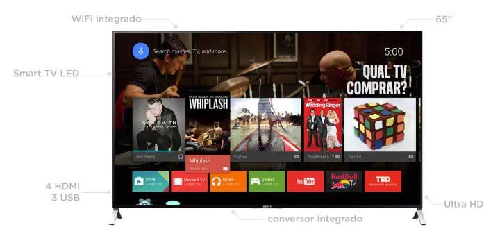 TV Sony XBR-65X905C 65 polegadas LED é boa vale a pena