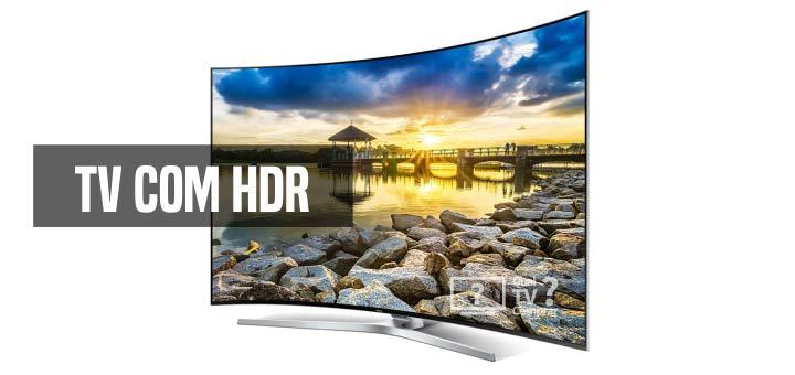tv com hdr tecnologia de imagem