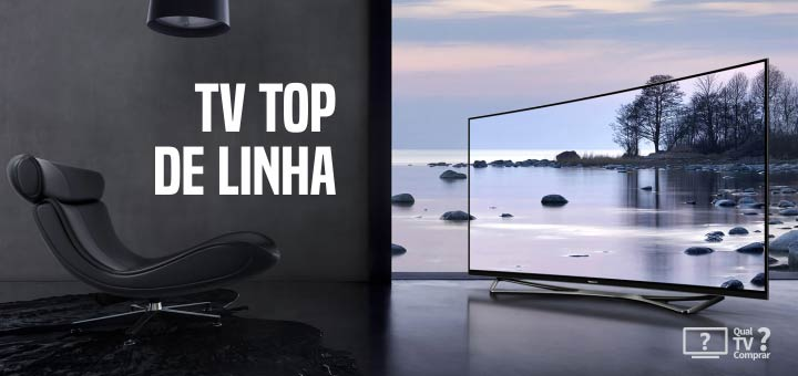 tv top de linha imagem no brasil