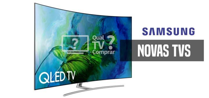 novas tvs QLED samsung UHD 4K comprar
