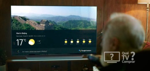 Nova LG TV 2018 com Google Assistant e tecnlogia ThinQ